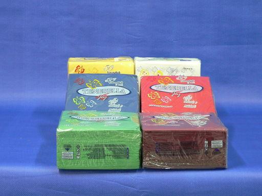 Szalvéta 2 rétegű, piros, zöld, kék, sárga, bordó,narancsszín, lila, pezsgőszín 40x40 cm, 50 db/ csomag, 24 csomag/ karton - 1024x768 pixel - 257962 byte