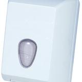Hajtogatott toalettpapírtartó - méret:215x125x160 mm hajt.toalettpapírhoz - fehér - 479x600 pixel - 55063 byte