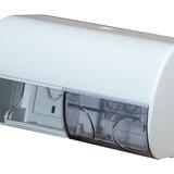 Ikerrollnitartó kis rollnis - méret:150x150x260 mm házt.toalettpapírhoz - fehér - 800x563 pixel - 74574 byte