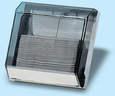 Kéztörlőpapírtartó - méret:290x100x300 mm C hajt.papírhoz - füstszínű - 647x539 pixel - 171295 byte