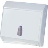 Kéztörlőpapírtartó  - méret:290x100x300 mm C hajt.papírhoz - fehér - 624x600 pixel - 57506 byte
