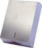 Kéztörlőpapírtartó - méret:380x125x255 mm hajt.pap.hoz,rozsdm. - INOX - 528x600 pixel - 48660 byte
