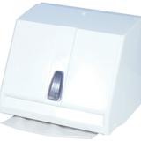 Kéztörlőpapírtartó kombi - méret:210x190x270 mm tek.és hajt.papírhoz - fehér - 645x600 pixel - 58477 byte