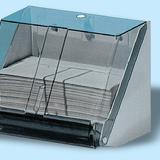 Kéztörlőpapírtartó kombi - méret:210x190x270 mm tek.és hajt.papírhoz - füstszínű - 636x450 pixel - 137271 byte