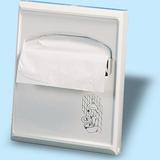 WC ülőke papírtartó - méret: 295x55x230 mm 200 db-os - fehér - 503x533 pixel - 51529 byte