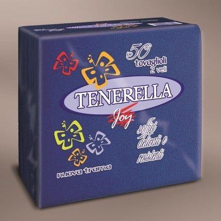 Tenerella szalvéta 40x40cm 50 lap 2 réteg szövet hatású kék - 456x456 pixel - 50535 byte