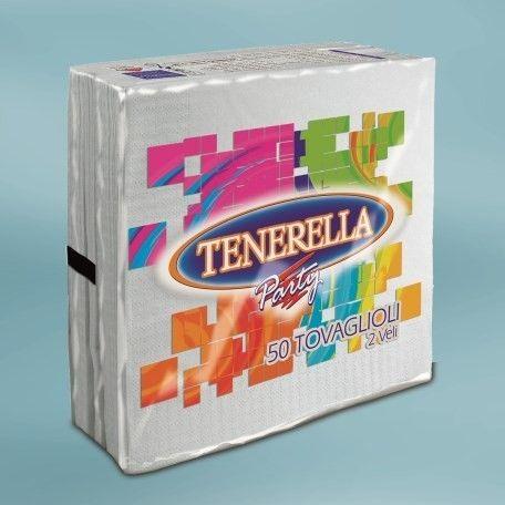Tenerella szalvéta 40x40cm 50 lap 2 réteg fehér - 456x456 pixel - 41618 byte