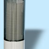 Poháradagoló nagy - méret: 315x100x100 mm 50 db műa. pohár - füstszínű - 285x595 pixel - 38448 byte