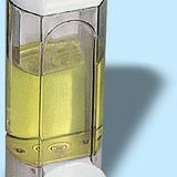 Szappanadagoló 0,8 literes - méret: 250x100x85 mm karos, orvosi célra - fehér - 308x477 pixel - 57218 byte