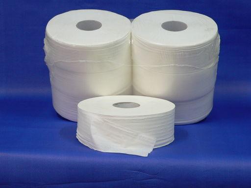 Nagyrollni papír 2 rétegű, tissue, átmérő 28 cm, mag átmérő 7,6 cm,100 % cellulóz,400 m/db, 6 db/csomag  - 1024x768 pixel - 171435 byte