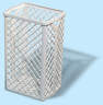 Papírkosár - méret: 500x320x250 mm - fehér - 585x600 pixel - 173339 byte