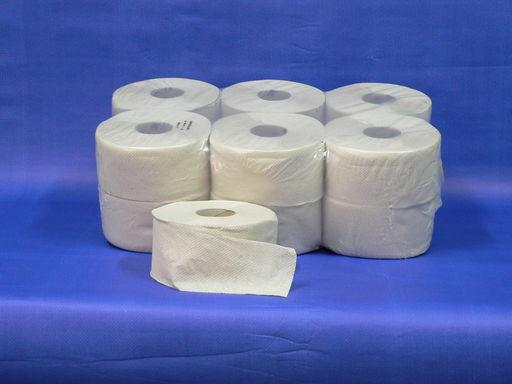 Minirollni papír 1 rétegű, krepp, átmérő 19 cm, mag átmérő 6 cm, reci,160 m/db, 12 db/csomag - 1024x768 pixel - 209693 byte