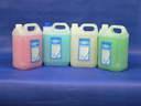 SANTAL folyékony krémszappan 5 l - kék-óceán, rózsaszín-lux, fehér-gyöngyvirág, zöld-zöldalma, sárga-mandarin - 1024x768 pixel - 218559 byte